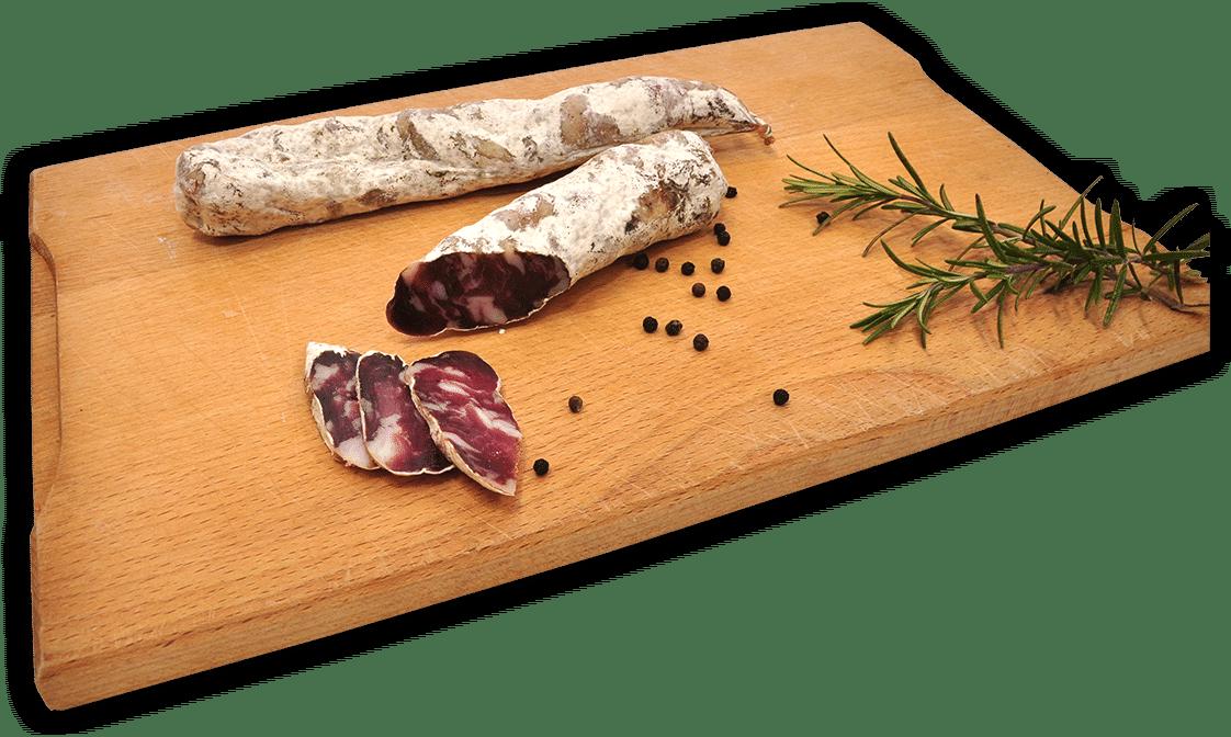 Domača svinjska salama Svinjski šalam blagovne znamke Sočna